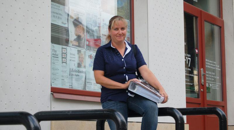 Bývalá vedoucí Turistického a informačního centra v Mělníku Jana Kirchnerová. Foto Jiří Janda