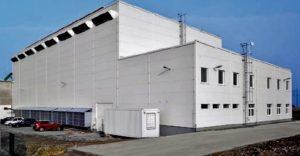 Energetické centrum Kozomín využívá unikátní technologii výroby elektrické energie metodou zplyňování dřevní štěpky.