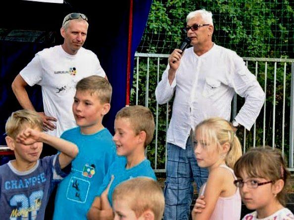 Dne otevřených dveří se zúčastnili také sportovní komentátor České televize Jiří Rejman a náměstek hejtmana pro školství, mládež a sport Milan Němec,