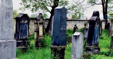 Židovský hřbitov v Mělníku.
