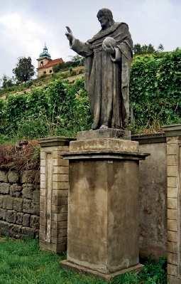 Socha Krista Spasitele v Liběchově.