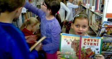 Ve Slaném pořádají pro malé čtenáře Den pro dětskou knihu