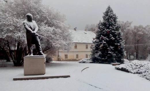 Zimní Nelahozeves