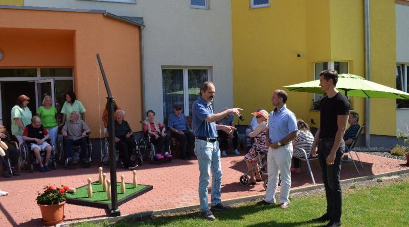 Starosta Tišic navštívil Senior komplex