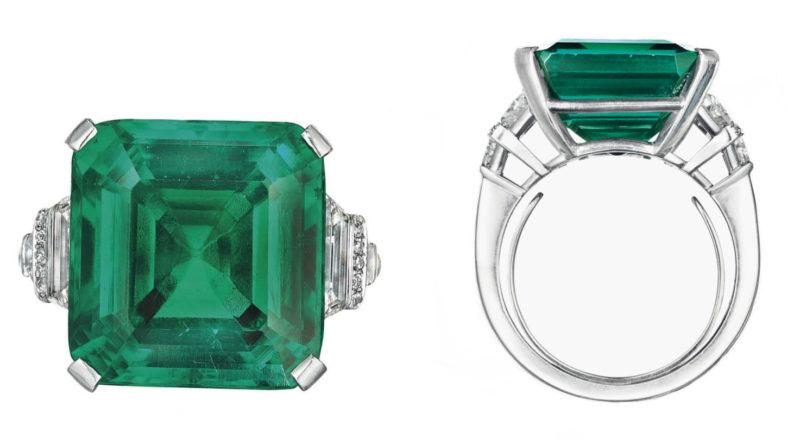 Rockefeller Emerald photo by Christie's