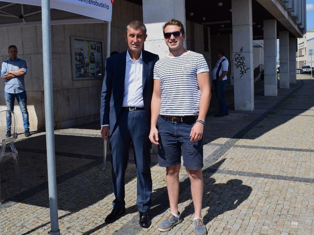 Andrej Babiš a Josek Kowanda (ANO)