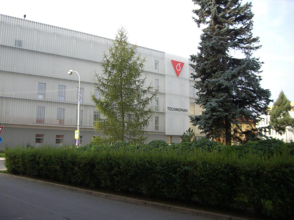 Výzkumné pracoviště Technopark v Kralupech.
