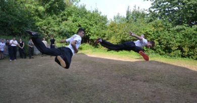 Letní soustředění mělnické školy kung fu