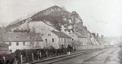 Kralupský Hostibejk v roce 1902