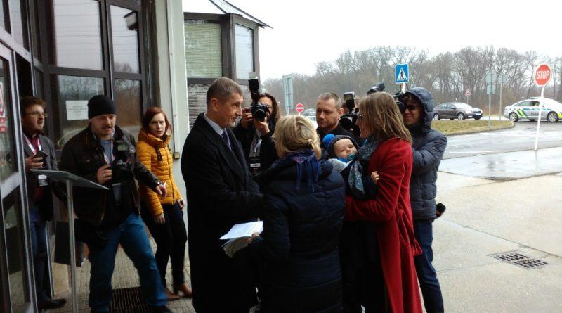 Vládní návštěva na Mělnicku
