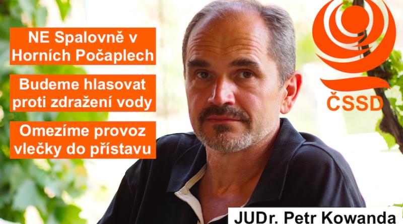 JUDr. Petr Kowanda: SLIBY PLNÍME