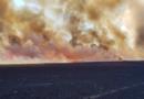 Nedaleko Úžic na Mělnicku hořelo pole, škoda je 1,3 milionu korun