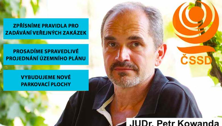 JUDr. Petr Kowanda: Vyřešíme problémy města!