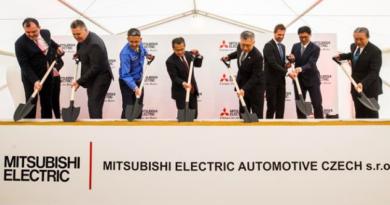 Společnost Mitsubishi rozšiřuje ve Slaném výrobní závod
