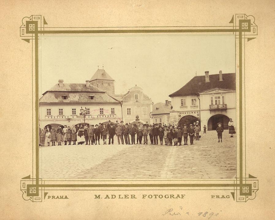 Náměstí v roce 1891