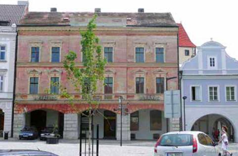 Zlatý beránek před rekonstrukcí v roce 2011