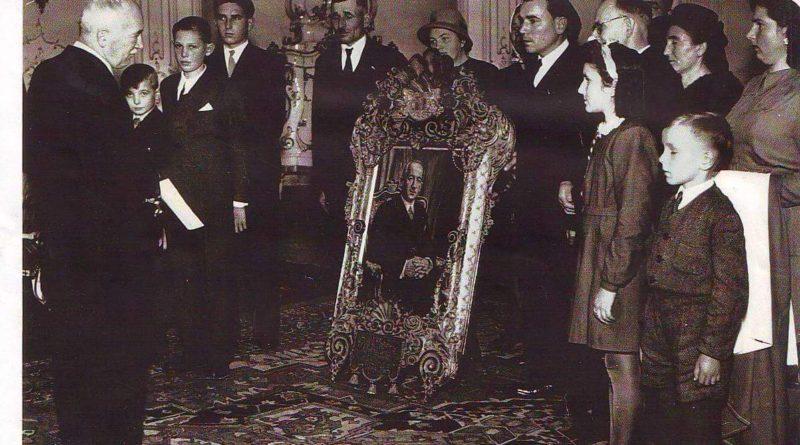 Předání na Pražském hradě říjen 1946