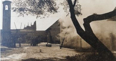 Vypálené Konětopy 8. května 1945