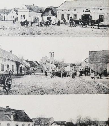 Předválečná pohlednice Konětopy