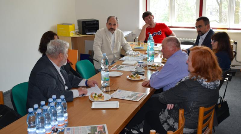 Kandidát na poslance do Evropského parlamentu RNDr. Pavel Poc navštívil Mělník