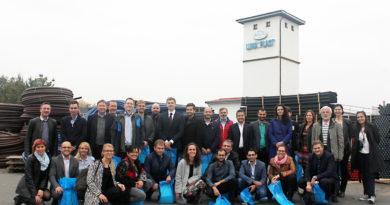 Společná fotka účastníků exkurze ve společnosti Luna Plast a.s.