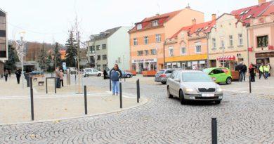 Město vcentru dolního Povltaví získalo moderní náměstí