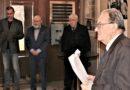 Pietní akt ve dvoraně Masarykova kulturního domu