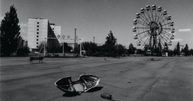 An amusement park in the abandoned city of Prypiat, Ukraine.  Photo by: Antonin Kratochvil / VII