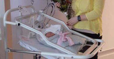 Prvním letošním mělnickým miminkem je Amálka