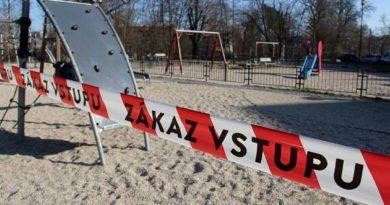 Dětská hřiště jsou uzavřena