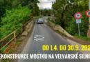 Od 01.04.2021 začne rekonstrukce mostku Na Velvarské silnici (č. II/101)